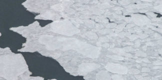 Sea ice should be rapidly re-freezing in the Arctic Ocean right now. It's not