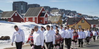Greenland premier seeks a new majority after populists leave government in row over Danish investment