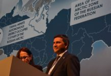 Russia's new natural resource minister opens an Arctic office