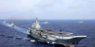 Chinese navy commander talks cooperation in visit to Russian Arctic