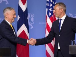 Norway renews NATO spending pledge as Trump's defense chief visits