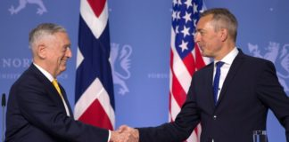 Norway renews NATO spending pledge as Trump's defense chief visits