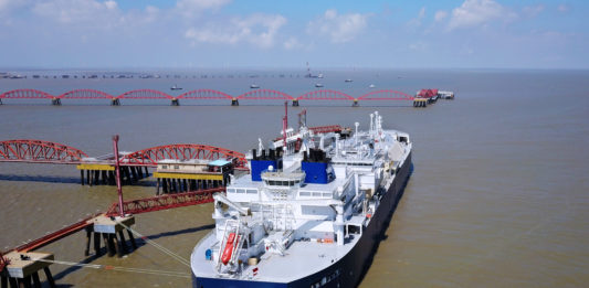 China just received its first LNG shipment to arrive directly from the Russian Arctic by ship