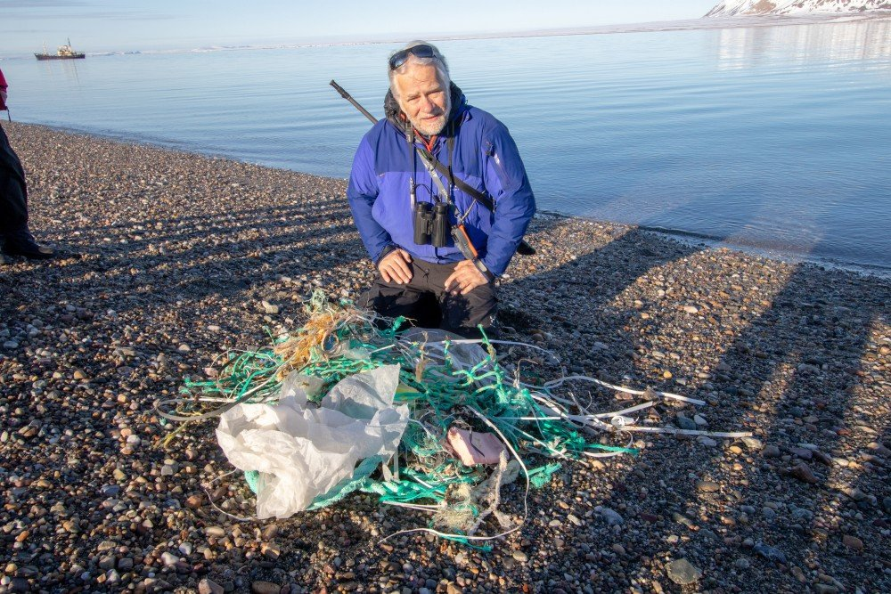 Mats Forsberg Is Shocked By All Waste Drifting Ashore On Svalbard Peter Haworth Via The Independent