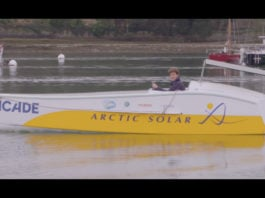 A French navigator is trying to sail the Northwest Passage solo — in a solar-powered boat
