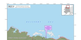 Federal agency endorses plan for oil project in Alaska's offshore Arctic waters