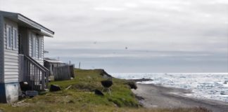 With erosion threatening its shoreline, Utqiagvik's residents are stepping up as citizen scientists