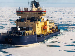 Difficult ice conditions slow Swedish icebreaker's expedition to the North Pole