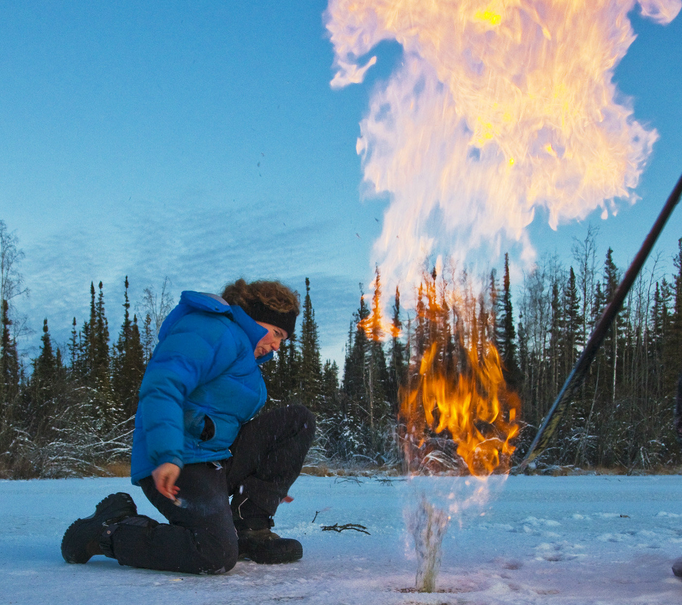 Permafrost thaw below Arctic lakes could be a much worse greenhouse gas source than previously thought