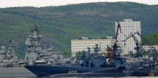 With warming Arctic, Russian navy gets larger areas to patrol