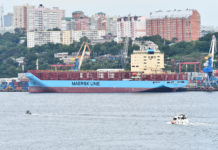 Maersk container ship is set to complete Arctic Ocean transit