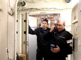 Canada's Navy hones its oil-spill response skills in Arctic waters