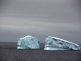 Canadian navy preps for the perils of iceberg alley