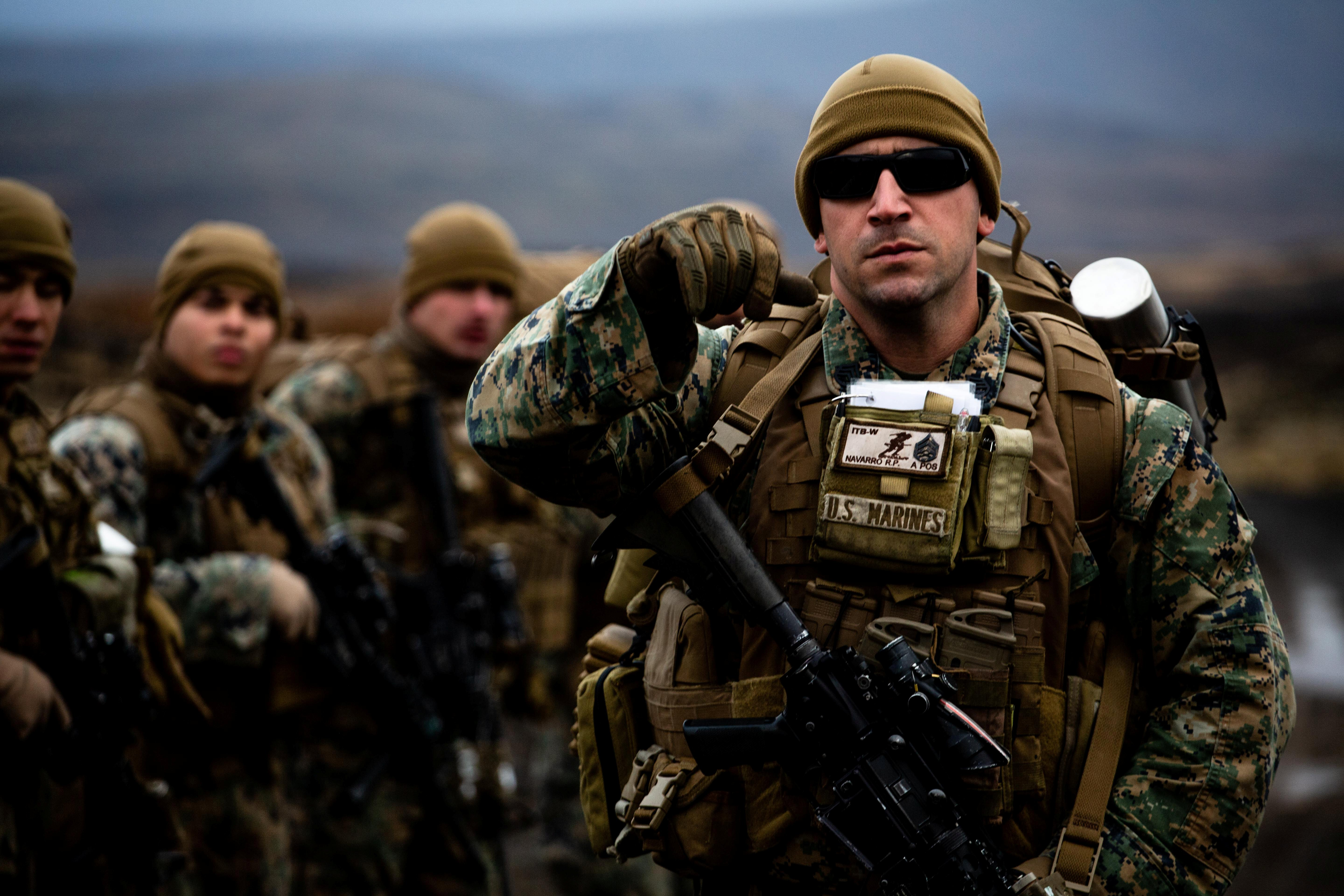 As winter comes, NATO kicks off largest maneuvers since Cold