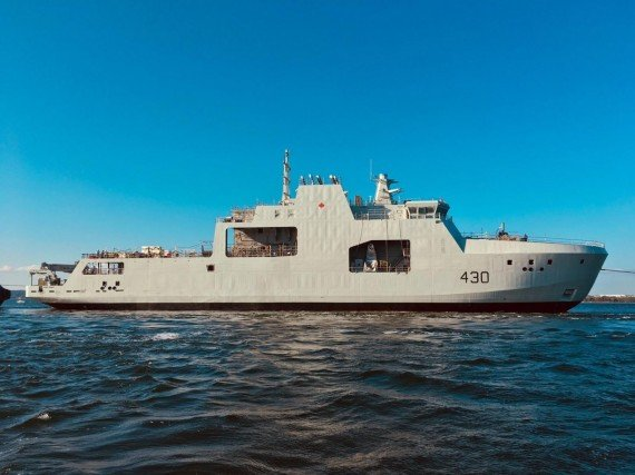 New naval ships advance Canadian sovereignty in the Arctic
