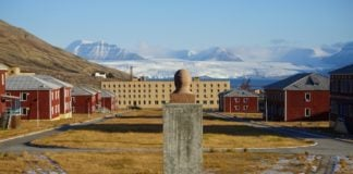 Inside Pyramiden, a Soviet ghost town in Arctic Norway