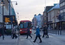 Luleå launches the world's northernmost battery-powered bus route