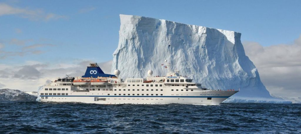 One Ocean Expeditions has been ice-strengthened and redesigned the ship.(Courtesy One Ocean Expeditions)
