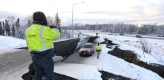 Powerful earthquake rattles Alaska, no injuries reported