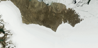 Researchers find a huge — and recent — meteorite crater beneath Greenland's ice sheet