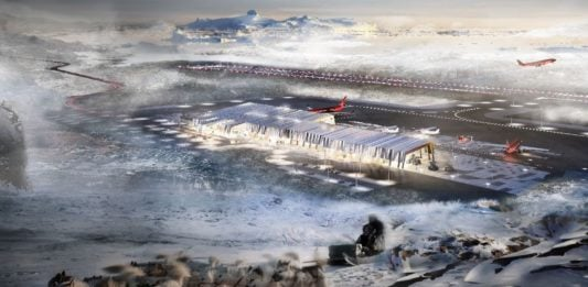 Greenland lawmakers approve funding for major airports project