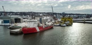 Canada launches its first new icebreaker in 25 years