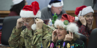 NORAD's eyes in the sky keep watch for Santa