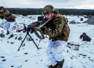 More military activity may spoil the Arctic's atmosphere of collaboration, warns a Danish report