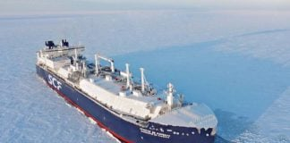 A new Russian Arctic partnership announces the construction of 17 icebreaking LNG tankers