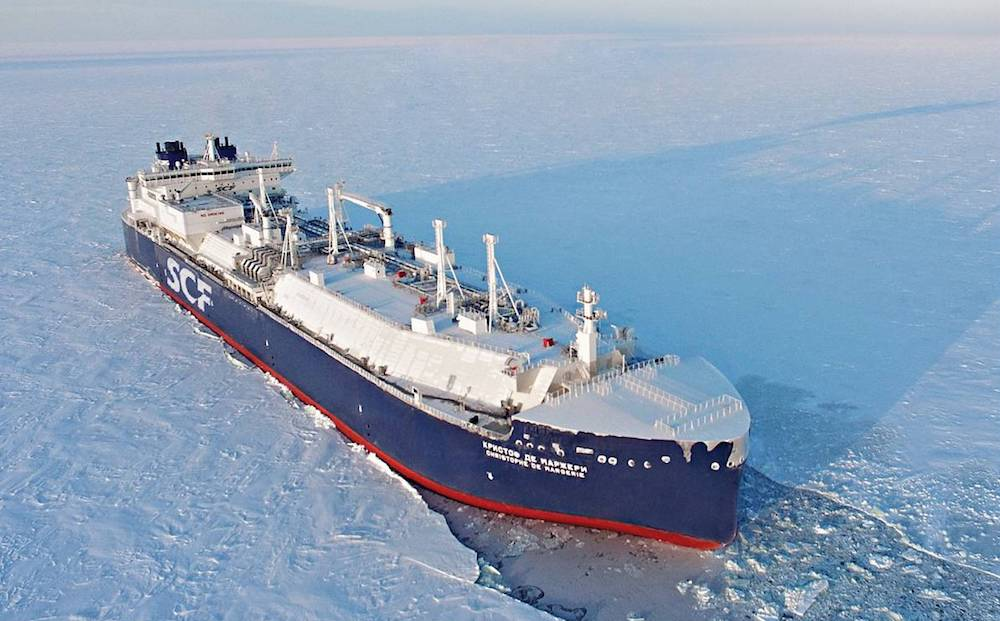 A new Russian Arctic partnership announces the construction of 17 icebreaking LNG tankers - Arctic Today