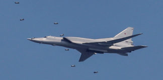 A nuclear-capable bomber crashed in Arctic Russia amid a snowstorm, Defense Ministry says
