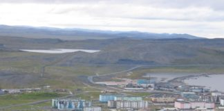 A new Russian Arctic naval base in the Sakha Republic is almost finished