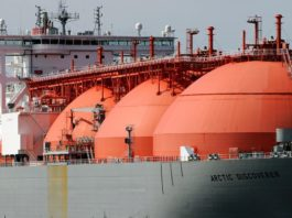 LNG tankers crowd Norway's Arctic coast
