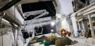 A joint Arctic emergency response network gets underway
