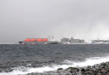 As Norway's North Sea fields wind down, the replacement remains a day away