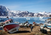 As ice melts, Greenland could become big sand exporter, says study