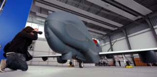 A mothballed drone prototype from Germany could one day patrol Canada's Arctic