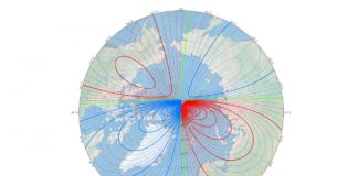 The magnetic North Pole has officially moved