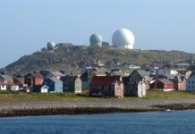 Eleven Russian fighter jets launched a mock attack on a Norwegian Arctic radar installation