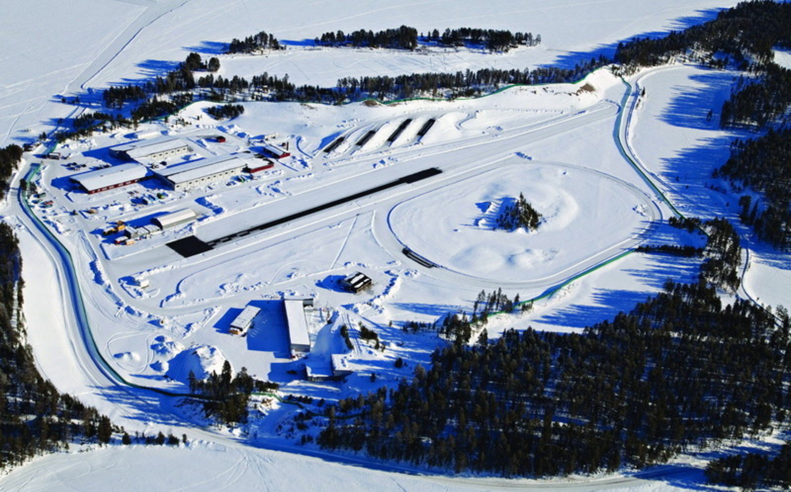 Sweden Arjeplog Bmw Test Track Small