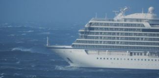 A 1,400-person cruise ship returning from Norway's Arctic survived an engine failure that threatened disaster