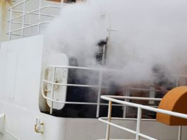 The only working US heavy icebreaker catches fire returning from Antarctica