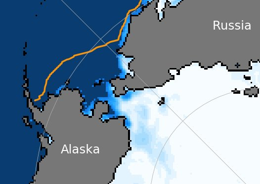 The Bering Sea is already nearly ice-free, setting up more havoc for its ecosystem and residents