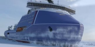 In a last move as PM, Russia's Medvedev secured funding for the first Lider-class icebreaker