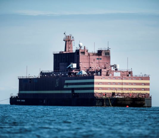 The reactors aboard a power plant bound for Russia's Arctic have been tested to full capacity