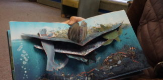 How an Alaska professor's pop-up book aims to spread awareness of marine plastic pollution
