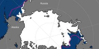 Arctic sea ice extent hits a record low for April — and old ice is disappearing fast