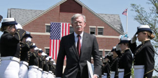 With Coast Guard commencement speech, Bolton pushes the Trump administration's newly aggressive Arctic stance