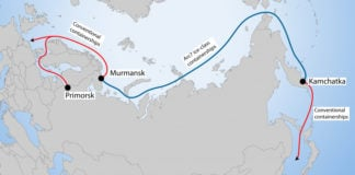 A Russian company is pushing forward with plans to bring container shipping to the Northern Sea Route