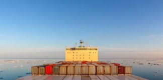 Shipping on the Northern Sea Route is up 40 percent